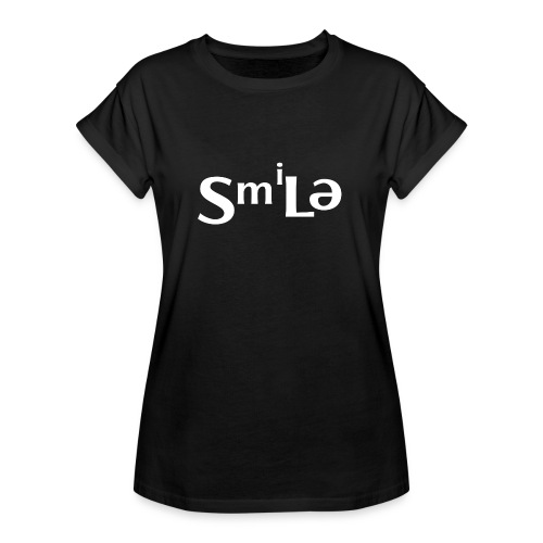 Smile Abstract Design - Women's Relaxed Fit T-Shirt
