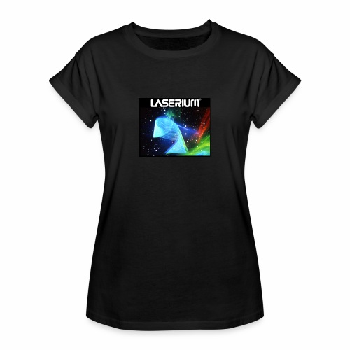 LASERIUM Laser spiral - Women's Relaxed Fit T-Shirt