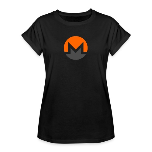 Monero crypto currency - Women's Relaxed Fit T-Shirt