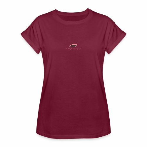 thick thighs & pretty eyes - Women's Relaxed Fit T-Shirt