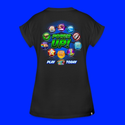 Vintage Cannonball Bingo Power-Up Tee - Women's Relaxed Fit T-Shirt
