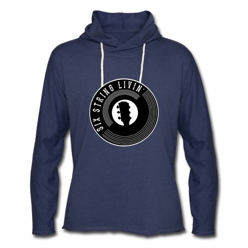 Six String Living - Unisex Lightweight Terry Hoodie