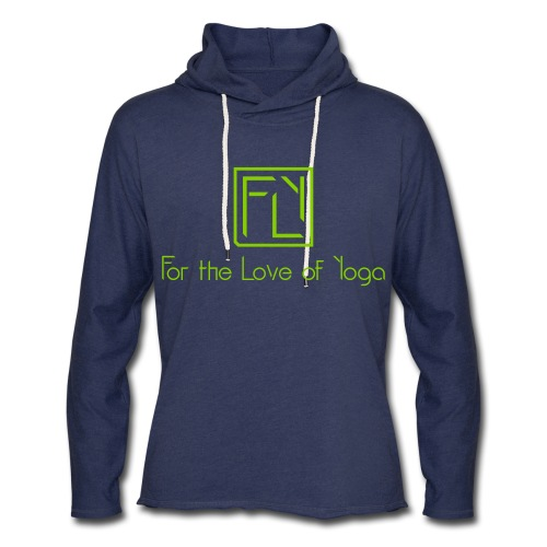 For the Love of Yoga - Unisex Lightweight Terry Hoodie