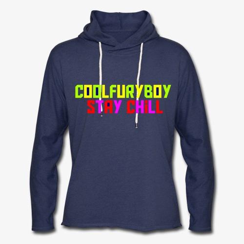 CoolFuryBoy - Unisex Lightweight Terry Hoodie