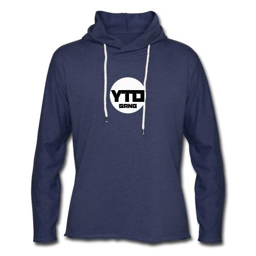 ytd logo - Unisex Lightweight Terry Hoodie