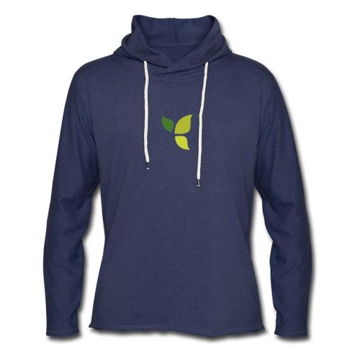 Dom Gooden Leaf Logo - Unisex Lightweight Terry Hoodie