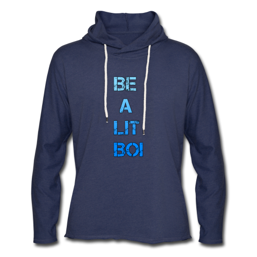 BE A LIT BOI Special - Unisex Lightweight Terry Hoodie