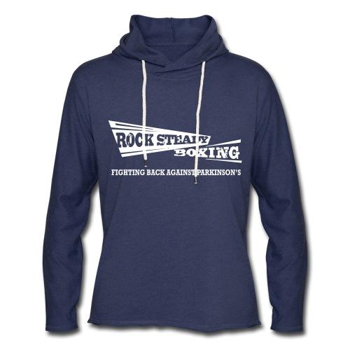 I Am Rock Steady T shirt - Unisex Lightweight Terry Hoodie