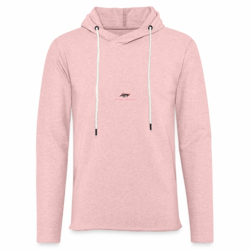 thick thighs & pretty eyes - Unisex Lightweight Terry Hoodie