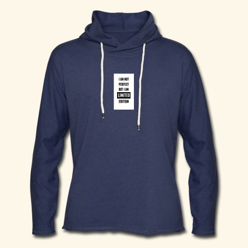 One of a kind - Unisex Lightweight Terry Hoodie
