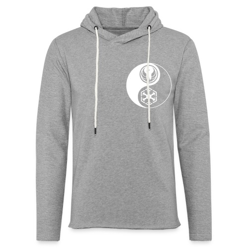 Star Wars SWTOR Yin Yang 1-Color Light - Unisex Lightweight Terry Hoodie