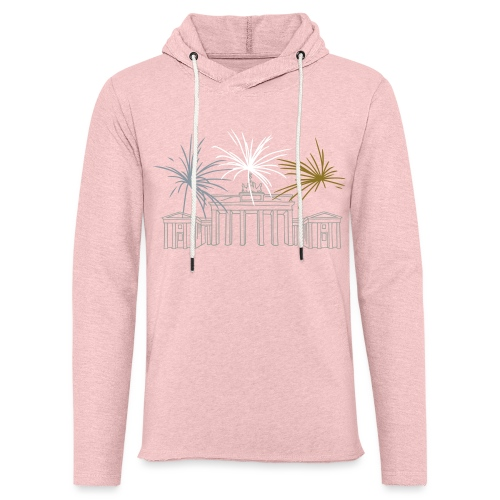 Brandenburg Gate Berlin - Unisex Lightweight Terry Hoodie