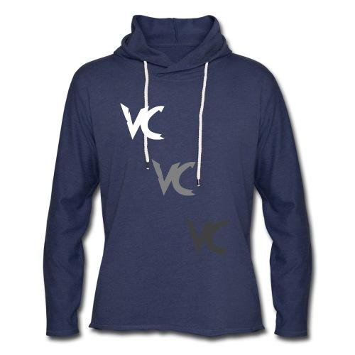 V3L0C1TY Logo Mugs & Drinkware - Unisex Lightweight Terry Hoodie