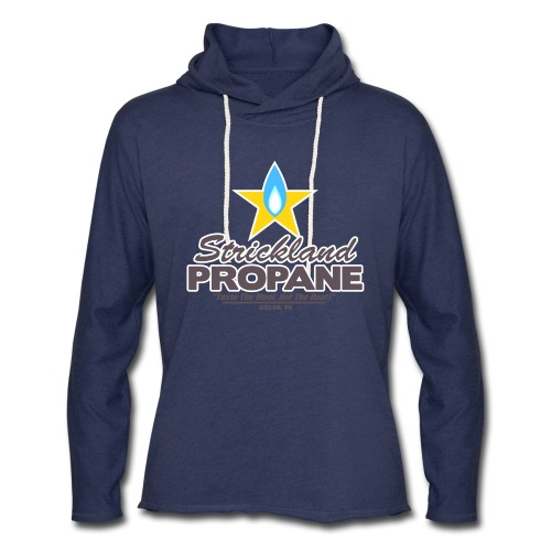 Strickland Propane Mens American Apparel Tee - Unisex Lightweight Terry Hoodie