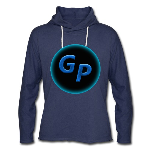 Large Logo Without Panther - Unisex Lightweight Terry Hoodie