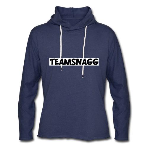 TeamSnagg Logo - Unisex Lightweight Terry Hoodie