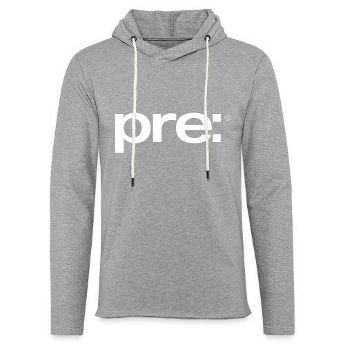 pre: range of clothing - Unisex Lightweight Terry Hoodie