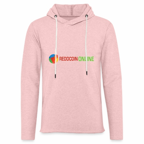 Reddcoin online logo red and green - Unisex Lightweight Terry Hoodie