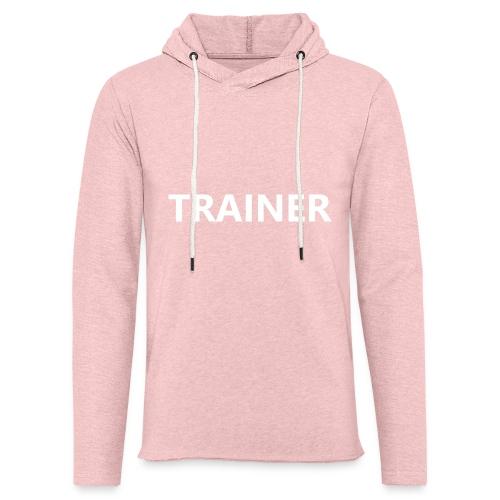Trainer - Unisex Lightweight Terry Hoodie