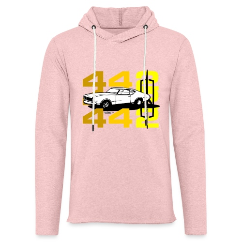 auto_oldsmobile_442_002a - Unisex Lightweight Terry Hoodie