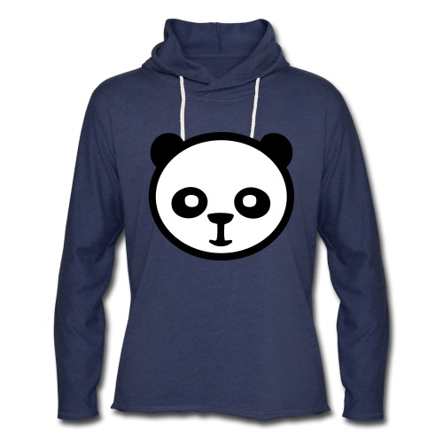 Panda bear, Big panda, Giant panda, Bamboo bear - Unisex Lightweight Terry Hoodie