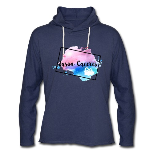 Jason Caceres Opening Intro Logo - Unisex Lightweight Terry Hoodie