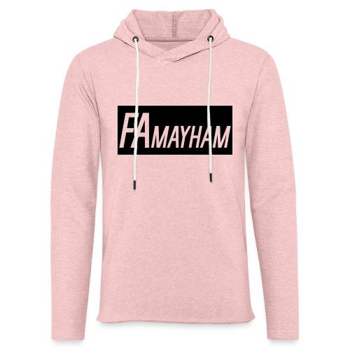 FAmayham - Unisex Lightweight Terry Hoodie