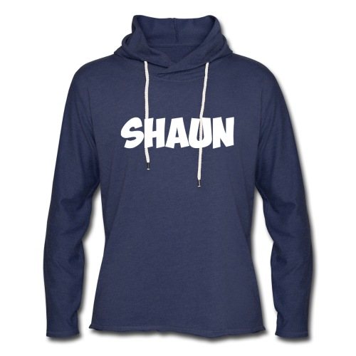 Shaun Logo Shirt - Unisex Lightweight Terry Hoodie