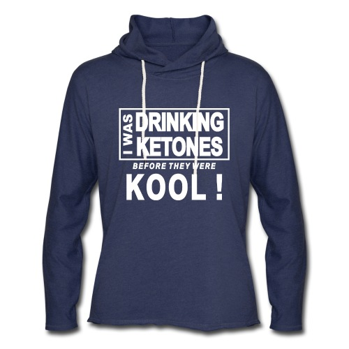 I was drinking ketones before they were kool - Unisex Lightweight Terry Hoodie