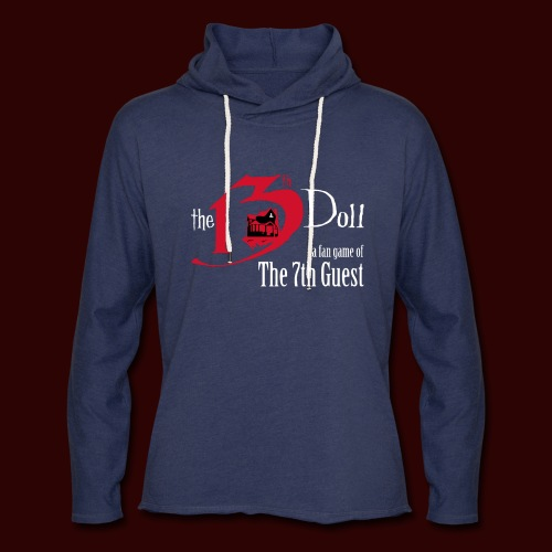 The 13th Doll Logo - Unisex Lightweight Terry Hoodie