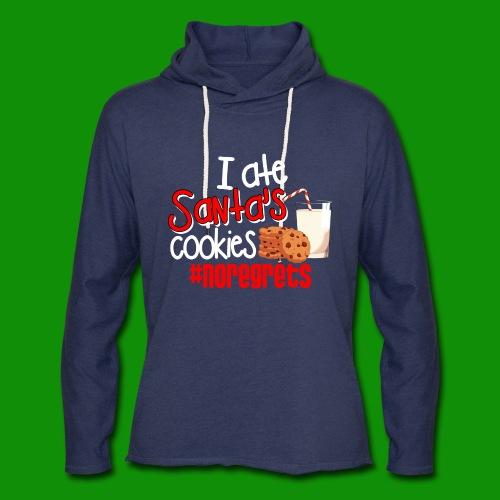 #NoRegrets Santa's Cookies - Unisex Lightweight Terry Hoodie