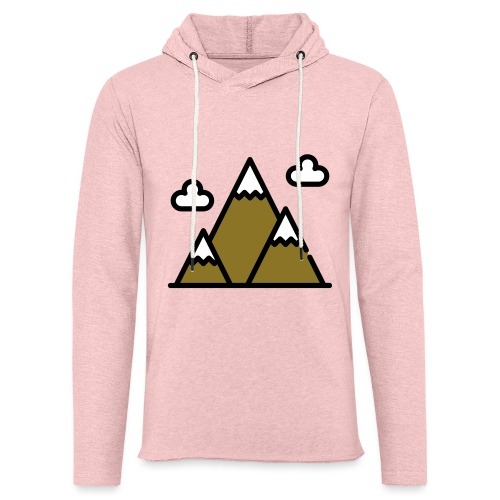 The Mountains - Unisex Lightweight Terry Hoodie
