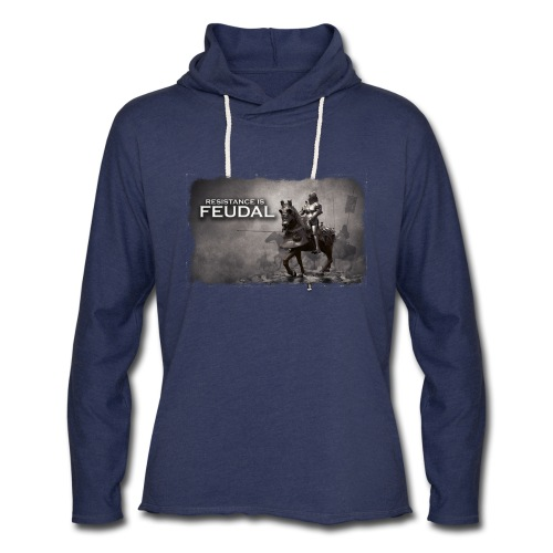 Resistance is Feudal 2 - Unisex Lightweight Terry Hoodie