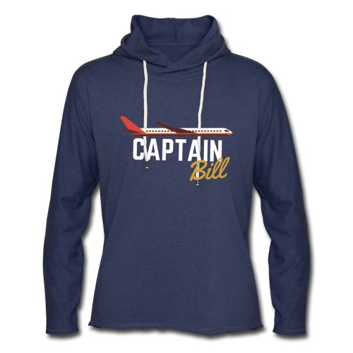 Captain Bill Avaition products - Unisex Lightweight Terry Hoodie