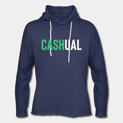 cash money casual - Unisex Lightweight Terry Hoodie