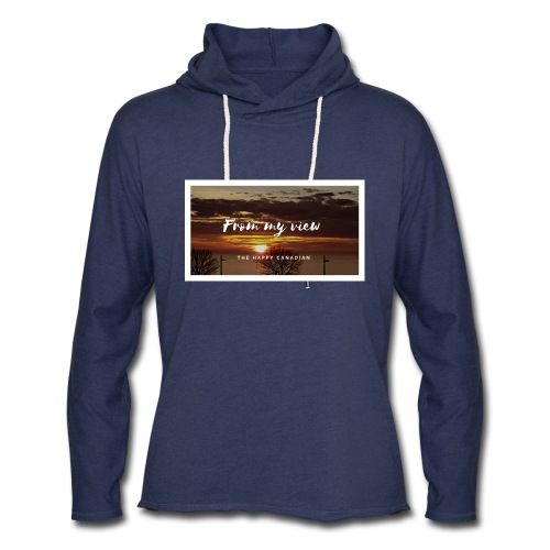 THE HAPPY CANADIAN - Unisex Lightweight Terry Hoodie