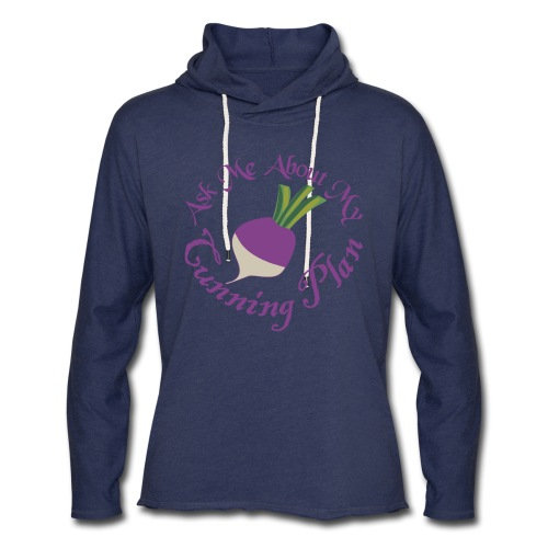 Ask Me About My Cunning Plan - Unisex Lightweight Terry Hoodie