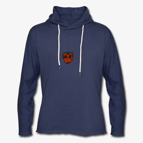 Scratched Mask MK IV - Unisex Lightweight Terry Hoodie