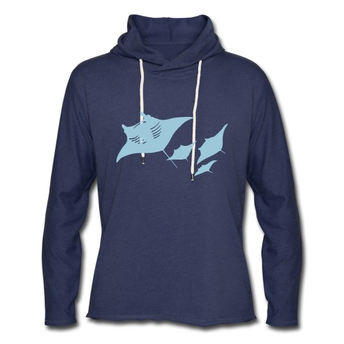 manta ray sting scuba diving diver dive - Unisex Lightweight Terry Hoodie