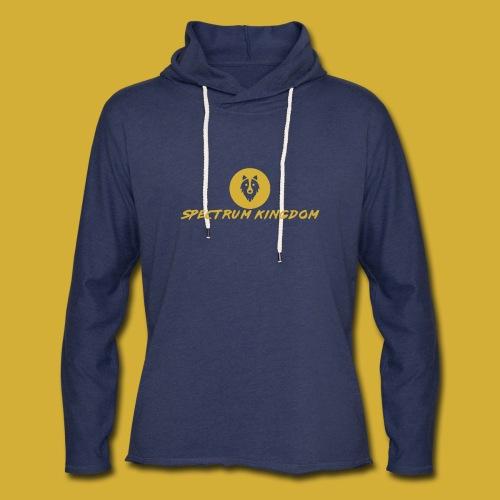 Spectrum Kingdom Gold Logo - Unisex Lightweight Terry Hoodie