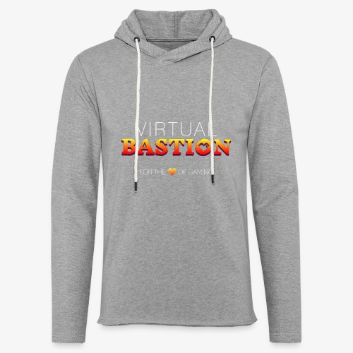Virtual Bastion: For the Love of Gaming - Unisex Lightweight Terry Hoodie