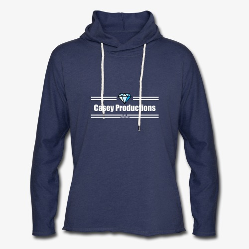 White Casey Productions Design - Unisex Lightweight Terry Hoodie