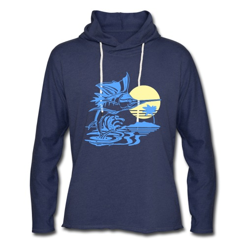 Sailfish - Unisex Lightweight Terry Hoodie