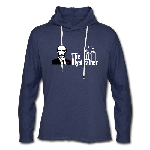 The Blyat Father - Unisex Lightweight Terry Hoodie