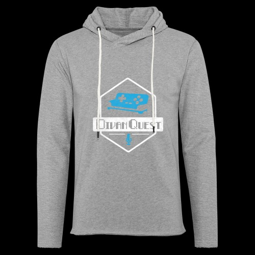 DivanQuest Logo (Badge) - Unisex Lightweight Terry Hoodie