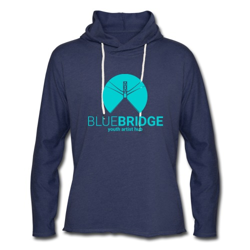 Blue Bridge - Unisex Lightweight Terry Hoodie