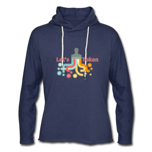 Let's Token by Glen Hendriks - Unisex Lightweight Terry Hoodie