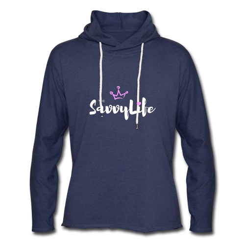 The Savvy Life - Unisex Lightweight Terry Hoodie