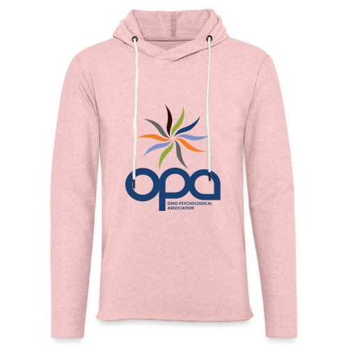 Hoodie with full color OPA logo - Unisex Lightweight Terry Hoodie