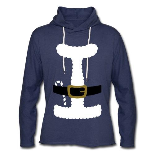 SANTA CLAUS SUIT - Men's Polo Shirt - Unisex Lightweight Terry Hoodie